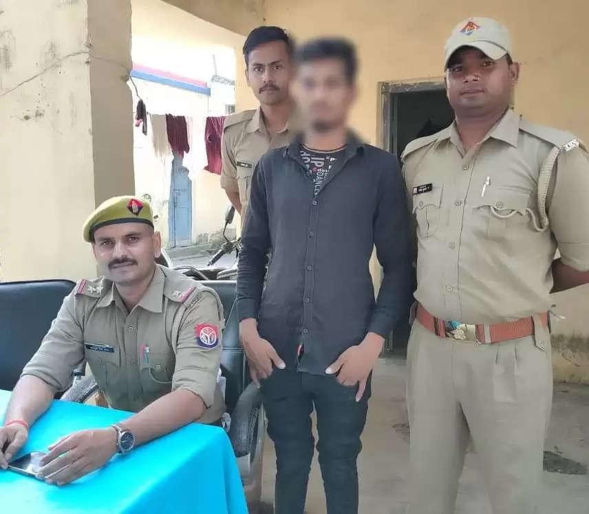 आपरेशन वज्रपात के तहत एक वांछित अभियुक्त गिरफ्तार