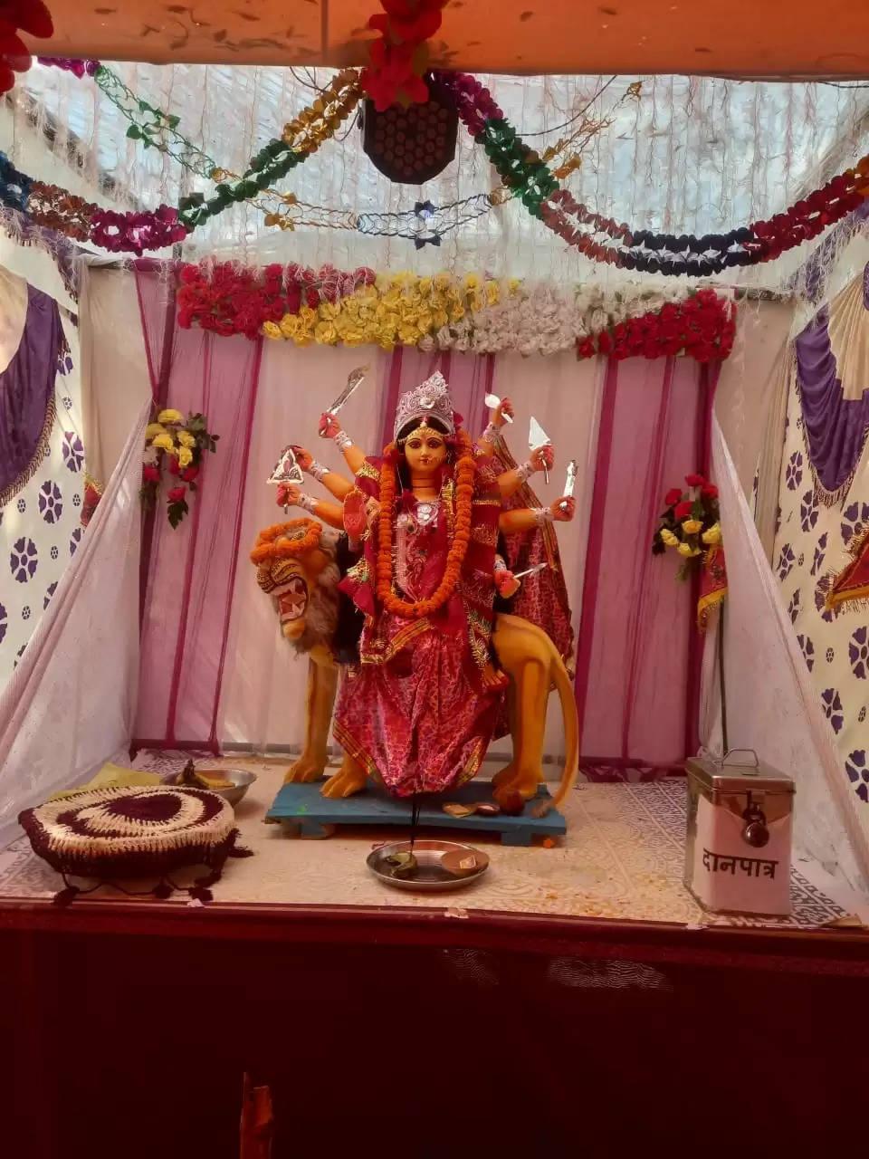 जय माँ दुर्गा पूजा समिति विरनाथीपुर