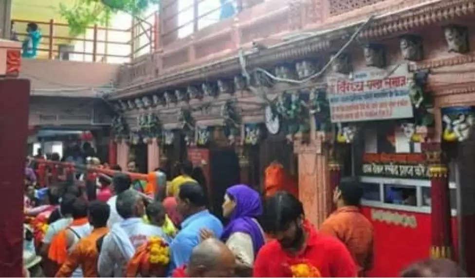 विंध्याचल में नवरात्र मेला आज से,पुख्ता सुरक्षा के लिएसीसीटीवी कैमरे रखेंगे नजर,