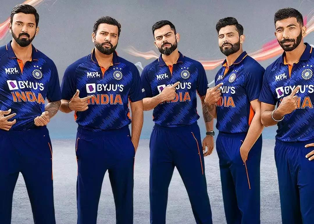 T20 World Cup: विश्व कप के लिए BCCI ने जारी की नई जर्सी, यहां देखिये...