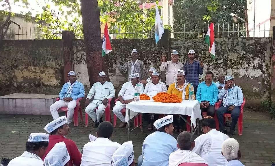 भाजपा युवा मोर्चा ने सेवा सप्ताह के दौरान तिरंगा यात्रा निकाली