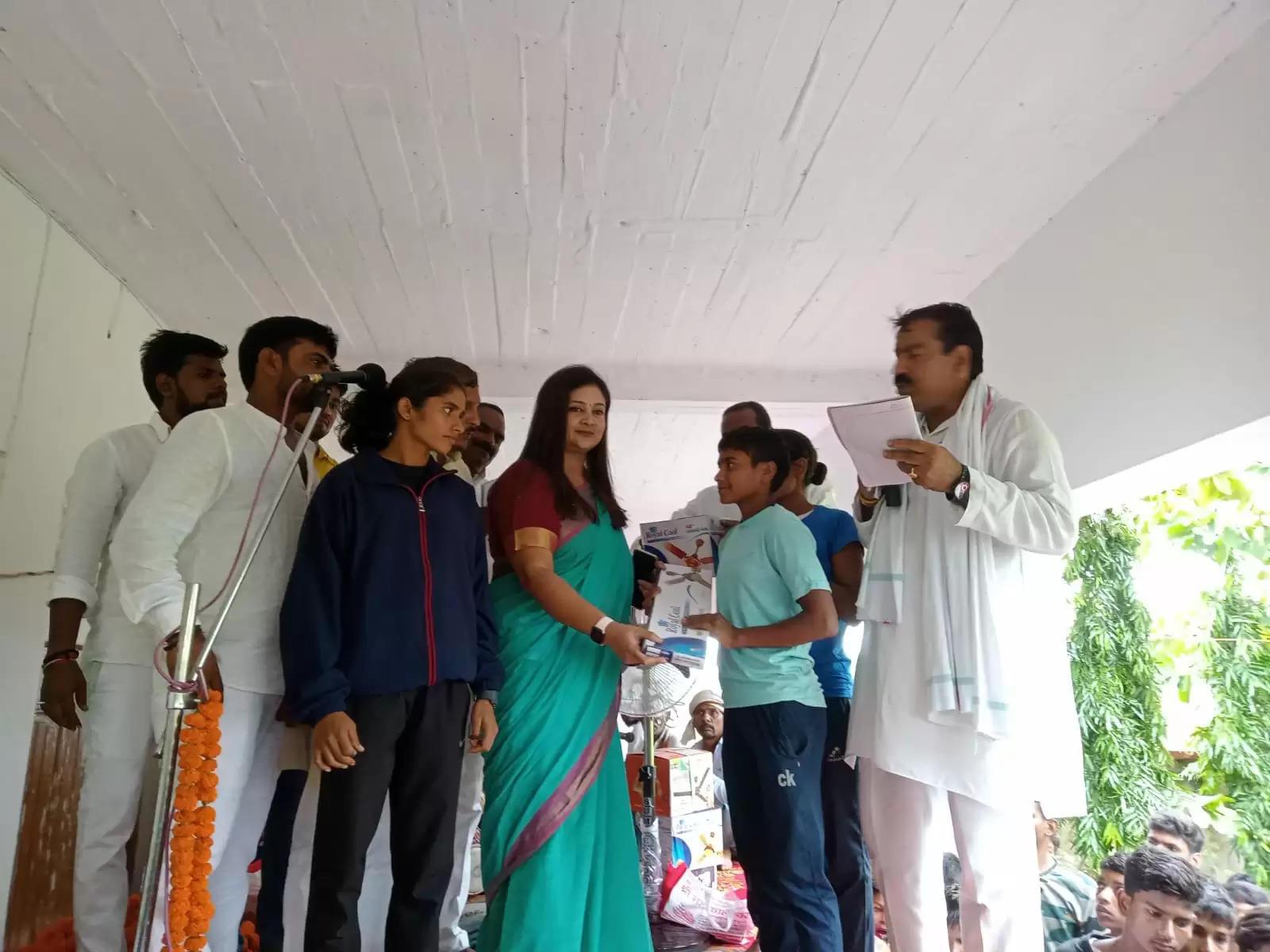 गांधी जयंती के अवसर पर मैराथन दौड़ का हुआ आयोजन